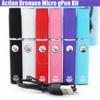 Wholesale Elips Dry Atomizer - New Action Bronson Herbal Vaporizer Blister Kit Wax dry herb atomizer micro Pen Colorful Portable Elips vapor e cig cigarettes vape kits DHL
