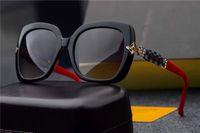 Wholesale France Style - new fashion women brand sunglasses 0647 france designer bling sunglasses sqaure fashion frame UV400 lens summer style outdoors design