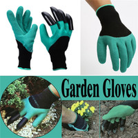 Wholesale Garden Gloves With Claws Unisex Cut Resistant Nitrile Digging gloves ingertips Unisex Claws Left Hand Claws IB432