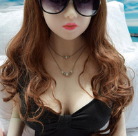 Wholesale silicone love dolls real girls for sale - Real sex doll sexy girl love dolls life size japanese silicone sex dolls soft breast realistic solid sex doll for men