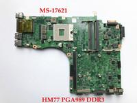 ingrosso msi scheda madre ddr3-originale per MSI GT70 laptop MS-17621 HM77 PGA989 DDR3 Scheda madre non integrata, completamente testata