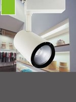 Wholesale W COB Led Track Light High Power Spotlight for Shop Clothing store track Spot Lighting High Bright