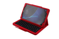 For Samsung waterproof keyboard case - For Samsung GALAXY Tab A T350 T351 Removable Bluetooth Keyboard Portfolio Folio PU Leather Case Cover pen