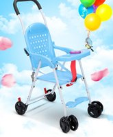 Wholesale Stroller Simple - Taketo baby rattan simple handcart ultra portable folding chair baby stroller for children in the summer of Xia Tianliang