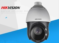 Wholesale Wireless Ptz Cctv Cameras - In stock Hikvision Original English 2MP PTZ DS-2DE4220IW-DE PTZ IP camera CCTV security Surveillance POE Infrared