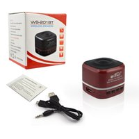 Wholesale Wireless Usb Video Receiver - Portable Video USB Wireless Speakers 3.5mm jack Mini Bluetooth Speaker Receiver Light Bluetooth Speaker with FM Radio& Yard Red Speakers