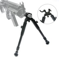 Wholesale Foot Clamps - Bestsight Tactical Clamp-on Bipod for Rifles Adjustable Height Rubber Feet Metal Universal Mount