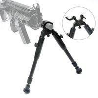 регулируемые металлические зажимы оптовых-Bestsight Tactical Накладные сошки для винтовок Регулируемая высота Резиновые ножки Металл Универсальное крепление