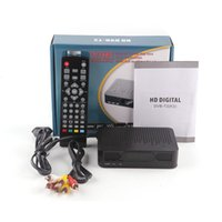 Décodeur Récepteur Hd Pas Cher-K3 DVB-T2 Set Top Box Digital Video Broadcasting Récepteur terrestre Full HD 1080P Digital H.264 MPEG4 Support Interface USB 3D