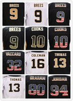 2017 Uomini 9 Drew Brees 10 Brandin Cooks 12 Marques Colston 32 Kenny Vaccaro 28 Adrian Peterson Elite American Jersey 30 James Conner jersey