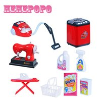 Wholesale Kids Gift Mini Kitchen Plastic Simulation Of Home Appliances Baby Girls Pretend Play Toys