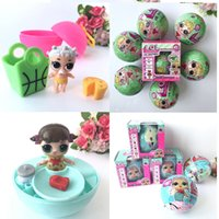 Wholesale Yiwu Gift Boxes - Newest Girls BIG Dolls LOL Surprise Lil Sisters Series 2 Lets Be Friends Action Figures Toys Baby Doll Kids Gifts With Retail Box 3003206