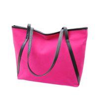 Wholesale Big Purchase - Wholesale- Fashion Larger capacity simple women shoulder bags casual women bag blosa handbags big Totes bulk purchase