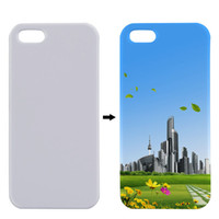3D Sublimation Fall für Apple iPhone 5 5S I5 Abdeckung Kunststoff 3D Wärmeübertragung Personal Printing Blank Sublimation Fall