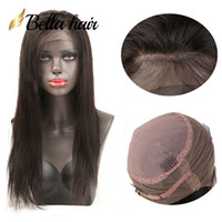 Wholesale human hair factory outlet for sale - Group buy Brazilian Human Hair Wigs Pre Plucked Lace Wig Virgin Hair Natural Straight Density BellaHair Factory Outlet Julienchina