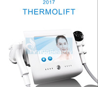 Thermolift Focused Vacuum Radio Frequency Cooling Beauty Facial Lifting Rimozione della grinza Pelle rassodante Body Stringere la macchina