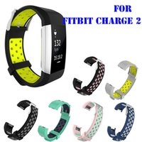 Wholesale Style Rates - New Style Soft Silicone TPU Replacement Strap For Fitbit Charge 2 Heart Rate Smart Wristband Bracelet Watch Bands