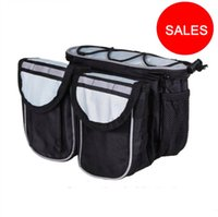 Wholesale Water Bag Tube - MTB Road Bicycle Front Tube Bag Mountain Bike Phone Bottle Rack Bag Frame 4 in 1 Multifunction