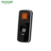 Wholesale Access Control Biometric Fingerprint Reader - Wholesale- RAYKUBE 2 In 1 Biometric Fingerprint & RFID Reader For Access Control System R-FX8
