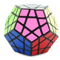 Wholesale Carbon Fiber Cube - FlyingTown 12 Faces Cube Speed Carbon Fiber Sticker Smooth Fidget Cube Magic Educational Puzzle Toys For Kids Adults