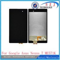 Wholesale Asus Nexus Screen Digitizer - Wholesale- New 7'' inch For Asus Google Nexus 7 FHD 2nd 2013 ME571K ME571KL digitizer touch screen Glass with lcd display assembly