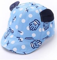 Wholesale Baby Girls Summer Hats - Wholesale 2106 new wool America baby boy girl hat caps