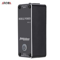 Wholesale guitar 9v for sale - Group buy Aroma APW Rechargable V A LED Mobile Power Supply for Guitar Effects High Quality Portable Effects Power Supply
