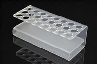 Wholesale Cigarett Display - Wholesale- 2 pcs 100% Acrylic Display Stand for E-Cigarett 24 pcs capacity for ego and EVOD