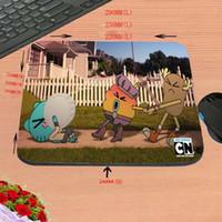 ingrosso piccoli topi-Fai da te Naughty Little Rabbit Animazione Cartoon Hd Pad antiscivolo per computer rettangolare antiscivolo, dimensioni personalizzate, decora la tua scrivania è progettato come un Gif