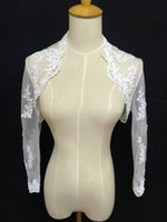 Wholesale Cheap Jackets For Ladies - 2017 High Quality Short Sleeve Organza Bridal Jackets for Wraps Wedding Cheap Ladies Jackets Bridal Accessories