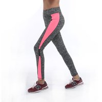 Wholesale Activewear Woman - Women Lady Activewear Legging Winter light grey Pink Pant Autumn High Waist Legging Soft 1208 American Original Order