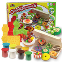 Wholesale Children Breakfast - Color Clay Dough set Funny Children Cooking Breakfast Free Tools and Accessories For Kid the best gift for children (Large)