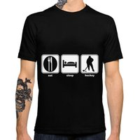 Wholesale Women Sleep Shorts - Love to Eat sleep hockey 2017 New Fashion Women Men Print Casual T-Shirts Personalized