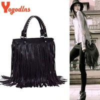 Vente en gros - Hanna Fashion Hot Sale Casual Style Star Fashion Tassels Sacs Hobo Embrayage Bourses Sacs à main femme Sacs à bandoulière Sac à main