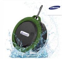 microphone haut-parleurs bluetooth achat en gros de-Haut-parleur de douche sans fil Bluetooth étanche avec pilote puissant 5W Longue durée de vie de la batterie, micro et ventouse amovible