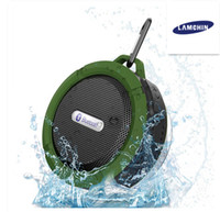 Wholesale player life online - Waterproof Wireless Bluetooth Speakers Shower Speaker with W Strong Driver Long Battery Life and Mic and Removable Suction Cup