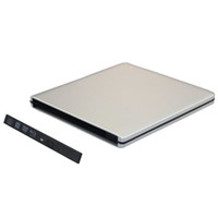 Atacado-USB 3.0 External Slim Case para 9,5 mm de altura SATA CD DVD-ROM DVD RW Blu-ray Drive