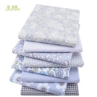 Wholesale Wholesale Fabric Sewing Material - New Twill Cotton Fabric Patchwork Gray Tissue Cloth Fat Quarter Bundle Of Handmade DIY Quilting Sewing Textile Material