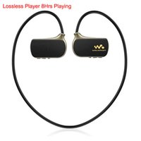 Wholesale Mp3 Run - Wholesale- 2017 Brand New Sports MP3 Player Real 8GB for Son Walkman NWZ-W273 Pro WS615 8G Running Lettore Musicale mp3 Players Handsfree