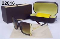 Wholesale Metal Cat Decoration - New Fashion Sunglasses Metal Leather Decoration Frame Glasses Brand Designer Women Mirror Sun glasses Men UV400 MA162