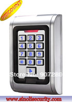 Wholesale card access - Wholesale- Wholesale Waterproof Metal Shell Access Control Keypad EM card support