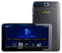 Wholesale Gps 7inch Android - 4pcs Custom Made 7inch mini Smart TV Tablet PC preloaded KDplayer Live TV Mobdro NetFlix Hulu MT8321 Quadcore 1GB 8GB 3G Bluetooth WIFI GPS