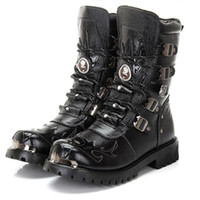 Cheap Fashion Combat Boots For Men | Free Shipping Fashion Combat ...