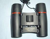 2017 hot EPacket SAKURA 30x60 blue film red film binocular night vision binoculars Spotting Scope camping trips optical folding binoculars