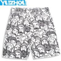 Wholesale Men Briefs Cartoon - 2016 Summer men's Board shorts Cartoon beach surfing shorts men liner swimming trunks mens swimwear swim short swimsuit gym