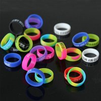 Wholesale E Cig Rings - Ecig Acessories vape bands ring,cheap rubber band,personalized silicone rings,silicone bracelet,vape ring silicone band beauty ring e cig