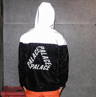 chaquetas reflectantes para hombre al por mayor-Nueva moda wpmen Hombres chaqueta casual hiphop rompevientos 3 m chaqueta reflectante marea marca hombres y mujeres amantes ropa de abrigo deportivo