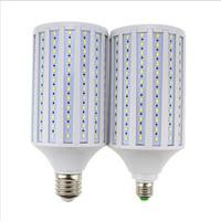 Wholesale E27 Ceiling Bulb Led - 2017 New Super Bright 50W 60W 80W LED Lamp E27 B22 E40 E26 110V 220V Lampada Corn Bulbs Pendant Lighting Chandelier Ceiling Spot light