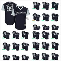 Wholesale D Series - Men's New York Yankees Kraken Red Thunder All-Starlin D. Dawg Toe  Little League World Series Players Weekend Authentic Baseball Jersey