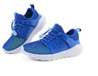 Wholesale Kids Casual Sandals - Kids Summer Shoes 2017 Mesh Sandals Glowing Sneakers For Children Hollow Out Net Breathable Casual Sport Trainers High Quality